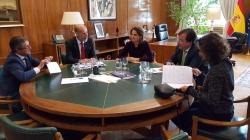 Fernández Vara aborda con la ministra para la Transición Ecológica la futura planificación energética de Extremadura.