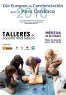 La Plaza de España acoge el sábado el Día Europeo de concienciación ante el Paro Cardiaco.