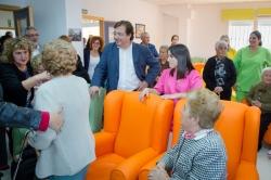 Guillermo Fernández Vara ha señalado que las residencias para mayores que se ubican en las zonas rurales fijan población al territorio.