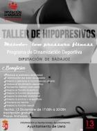 La Diputación en marcha Talleres de Hipopresivos
