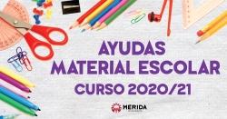 El ayuntamiento de Mérida duplica las ayudas para material escolar y amplía la cuantía para todas las etapas formativas