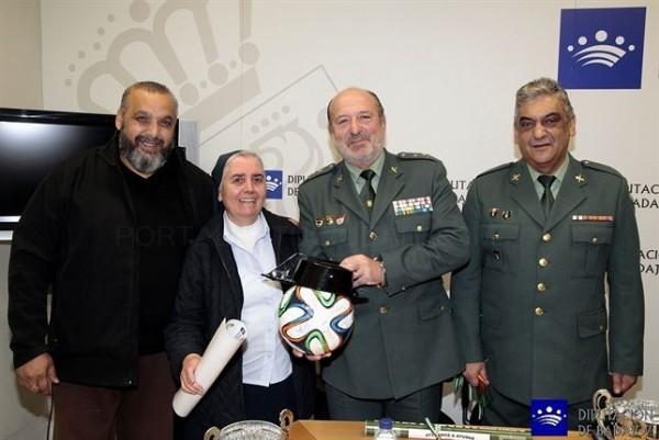 Gitanos y guardias civiles disputarán un torneo de fútbol solidario