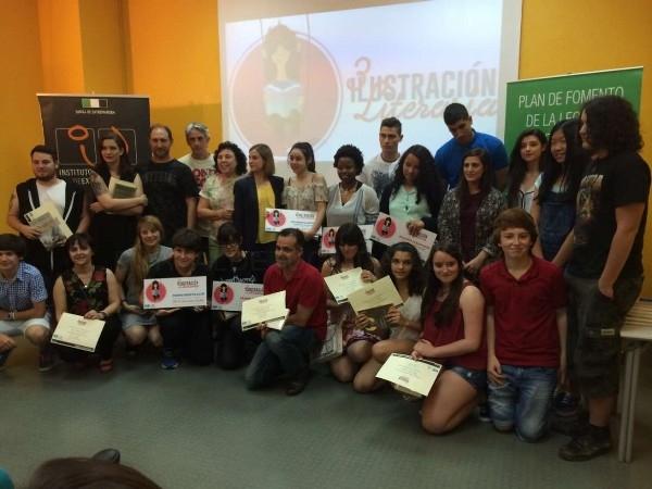 Entregados los premios del III concurso Ilustración Literaria en Mérida