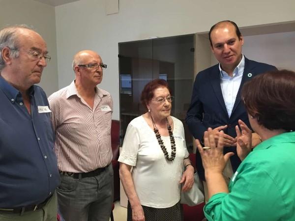 Carrón destaca en el Aula del Paciente de Mérida la importancia de la Atención Primaria en su papel de velar por la salud pública
