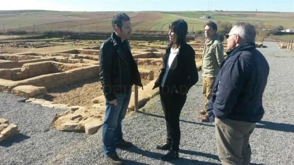 La Junta más de 200.000 euros en el yacimiento de Contributa Iulia, en Medina de las Torres