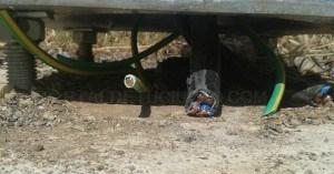 Un robo de cable deja sin luz un tramo de la carretera del lago de Proserpina