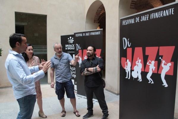 La Diputación de Badajoz lleva el jazz a los pueblos de la provincia.