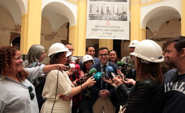 Satisfacción por el progreso de la primera fase de rehabilitación del antiguo Hospital Provincial.
