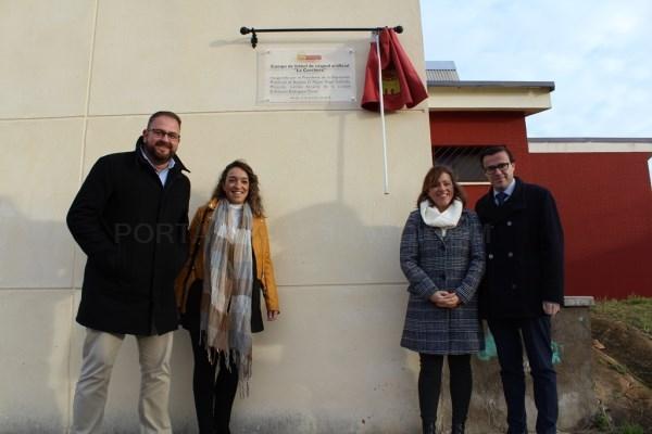 Inaugurado el nuevo campo de fútbol de césped artificial de La Corchera,