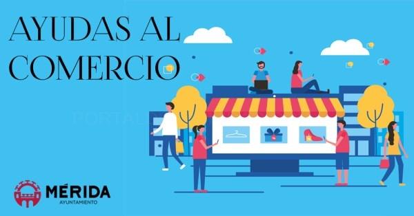 Los comercios de Mérida recibirán hasta 3.100 euros en ayudas del ayuntamiento a través de los Bonos de Consumo