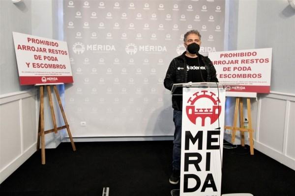 """El alcalde de Mérida solicita a la Junta que se licite """"lo antes posible"""" la terminal ferroviaria de Expacio Mérida """"porque su creación supondrá un gr"""