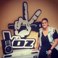 Concierto de 'Maria Moriel' de LaVoz en Sala e