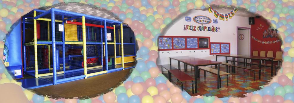 ludoteca en dos hermanas, menus para cumpleaños dos hermanas, parque de bolas sevilla