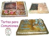 Pastelerias en montequinto, tartas para comuniones montequinto, tartas para bodas dos hermanas