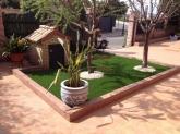 diseño de jardín de césped artificial en dos hermanas, Césped artificial