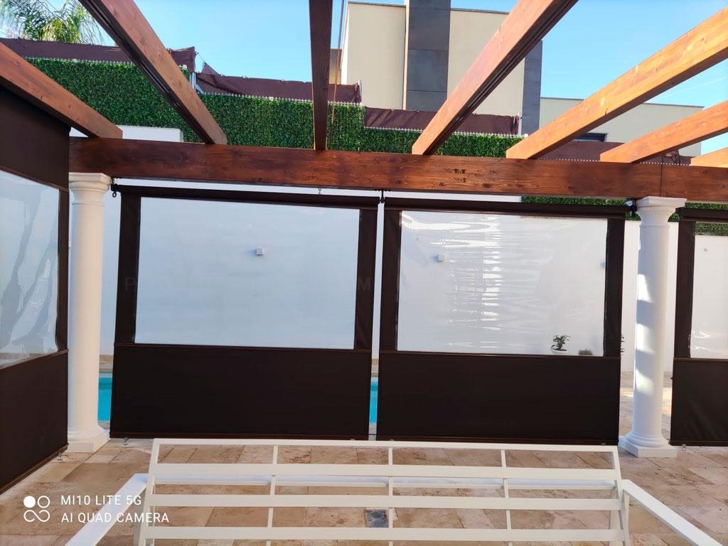 pergolas de aluminio en sevilla, pergolas de madera en Sevilla