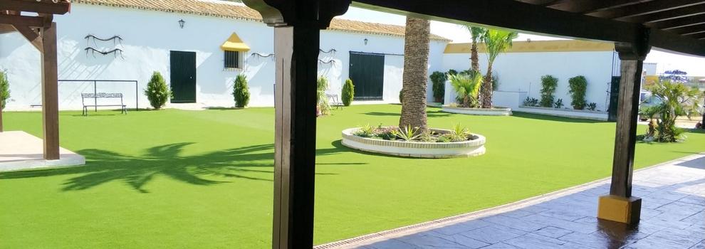 instalación de césped artificial en sevilla