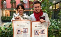 La conmovedora iniciativa de Almudena y Antonio por la lucha contra la leucemia