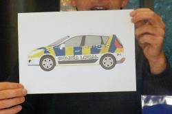 Patrulleros de la Policía Local mucho más llamativos