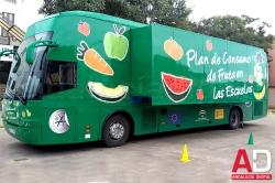 La Junta difunde hábitos alimenticios saludables entre 400.000 alumnos de 1.400 centros de Infantil y Primaria