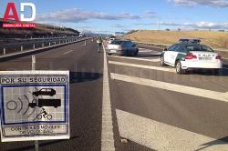 La DGT intensificará los controles de vigilancia sobre la velocidad en toda la red de carreteras de Andalucía