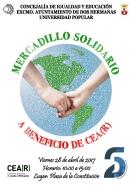 La Universidad Popular organiza un mercadillo solidario con artículos realizados por su alumnado