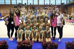 El Club de Gimnasia Rítmica brilla en el Campeonato de Andalucía, donde logra tres medallas de oro