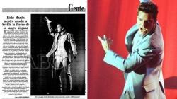 Ricky Martin vuelve a Sevilla casi 20 años después de su concierto en el campo de fútbol de Montequinto