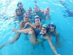 El C.W. Dos Hermanas, en el campeonato de España juvenil femenino