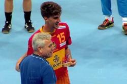 El jugador del BM Montequinto Antonio Serradilla jugará la final del Campeonato del Mundo Juvenil
