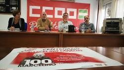 CC.OO. celebra sus 40 años y el centenario de Marcelino Camacho