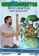 Cuentacuentos en familia. 'Biocuentos' con Diego Magdaleno