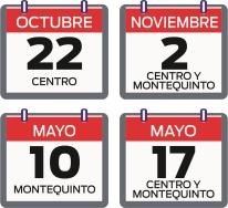 Aprobado el calendario de días no lectivos