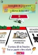 La Universidad Popular de Dos Hermanas activa la III Campaña de recogida de juguetes ara Navidad