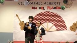 Pasión por el flamenco en el CEIP Rafael Alberti de Dos Hermanas junto a Manuel Lombo
