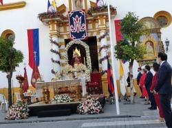 Domingo de Valme, domingo de romería en Los Jardines