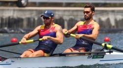 Diploma olímpico para Jaime Canalejo y Javier García, sextos en la final del dos sin timonel del remo