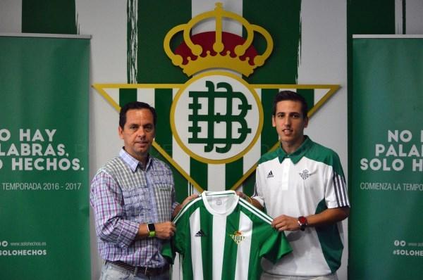 Javi Sánchez, calidad de 1ª División para el proyecto del Real Betis Futsal