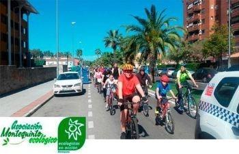 2ª Marcha en bicicleta en Montequinto por el Medio Ambiente