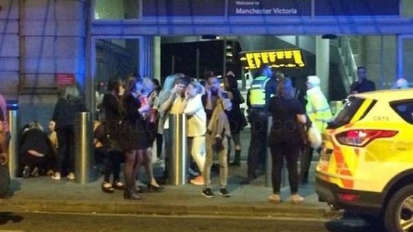Al menos 19 muertos en un atentado en un concierto en Manchester