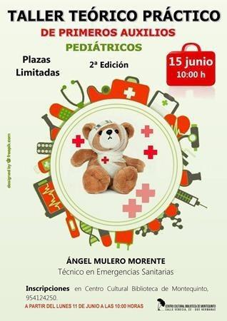 TALLER TEóRICO PRáCTICO SOBRE PRIMEROS AUXILIOS PEDIáTRICOS
