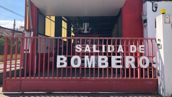 ENTRADA DEL ACTUAL PARQUE DE BOMBEROS DE DOS HERMANAS - F.V.