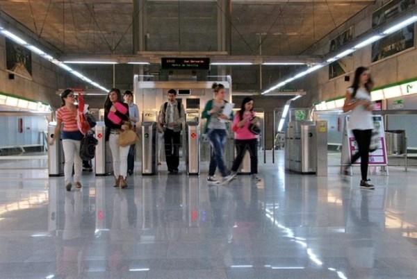 Metro de Sevilla roza los 17 millones de usuarios y bate un nuevo récord de demanda con 5,65% más de viajeros en 2018