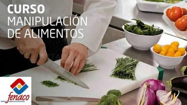 Abierto el plazo de inscripción para el curso de manipulador de alimentos de FENACO