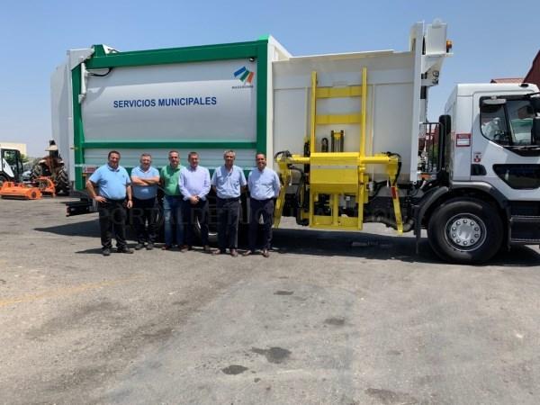 Nuevo camión para la recogida de residuos sólidos urbanos