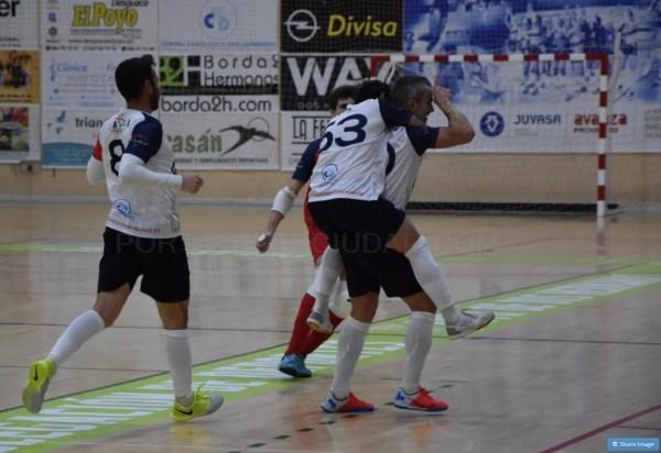 Partidazo del GTS Nazareno que se impuso 4-0 al Cádiz CF Virgili