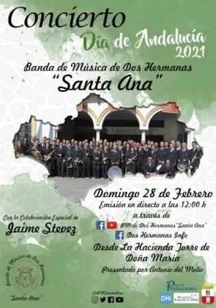 Concierto en streaming para celebrar el Día de Andalucía
