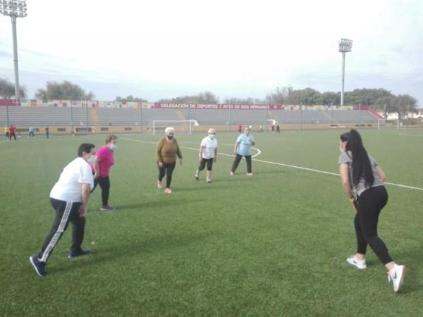 Segundo periodo de las actividades físicas para personas mayores