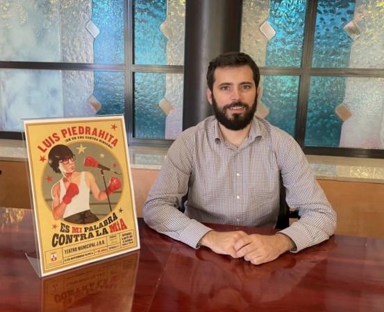 Luis Piedrahita traerá sus monólogos al teatro municipal