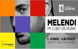 "Melendi ""Mi cubo de Rubik"""